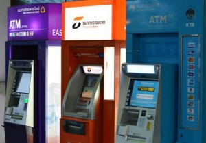 ATM machines in Pattaya