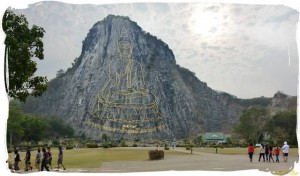Khao Cheeyan Buddha mountain south of Pattaya