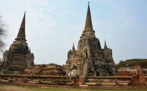 Ancient temples in Ayutthaya