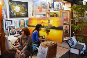 Art gallery in Pattaya