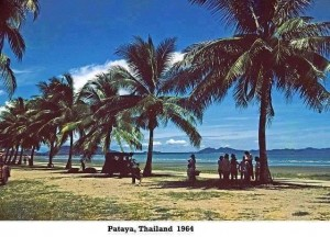 Pattaya beach in 1964
