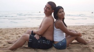 Thai-foreign couple