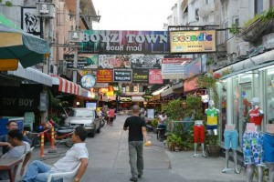 Boyz Town is Pattaya's prime gay entertainment zone
