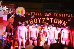 Gay show bar in Boyztown
