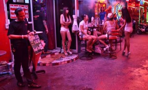 GoGo bar on an alley in South Pattaya