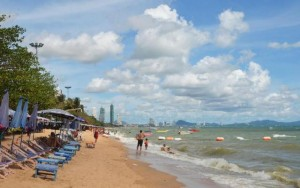 Jomtien beach just south of Pattaya