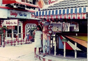 Beer bar off Walking Street in the 1970s