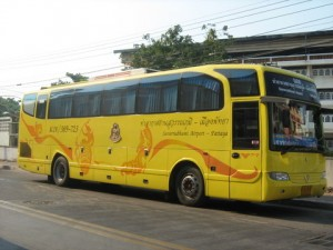 Bus from Suvarnabhumi Airport to Pattaya