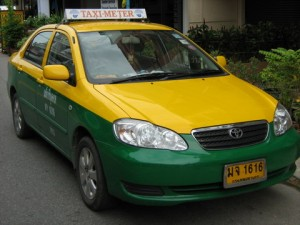 Taxi meter in Pattaya
