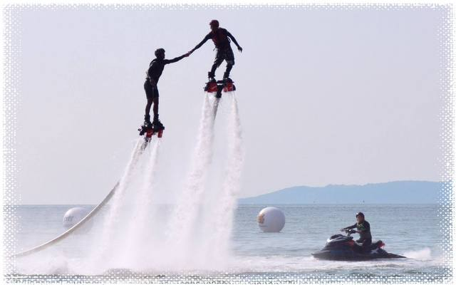 Water sports on Jomtien beach