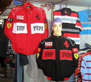Fake Formula One jackets