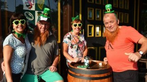 St. Patrick's Day at Mulligan's Irish Pub in Pattaya