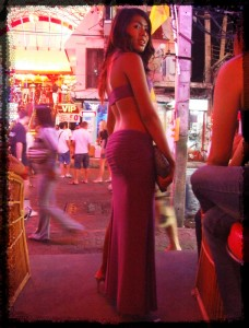 Walking Street ladyboy