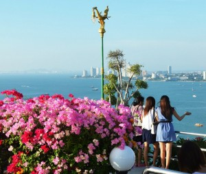 Pattaya viewpoint on Pratamnak hill