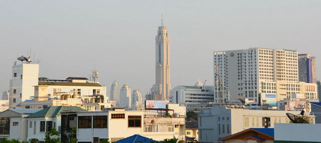 Baiyoke Tower in Bangkok
