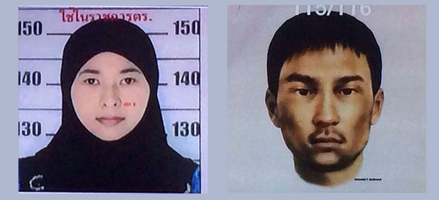 Two more Bangkok bomb suspects