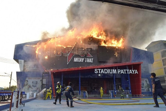 Max Muay Thai Stadium destroyed by fire