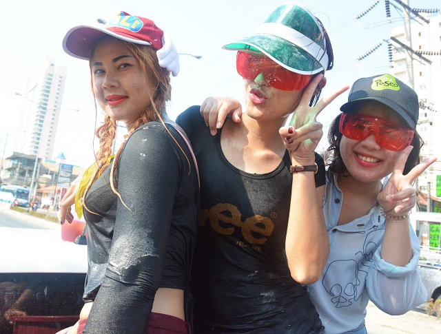 Songkran in Pattaya 2016 - 07