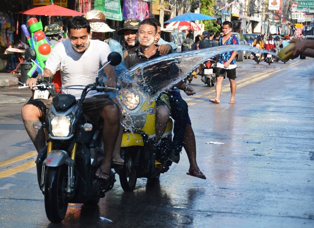 Songkran in Pattaya 2016 - 10