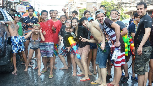 Songkran in Pattaya 2016 - 15