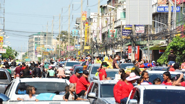 Songkran in Pattaya 2016 - 23