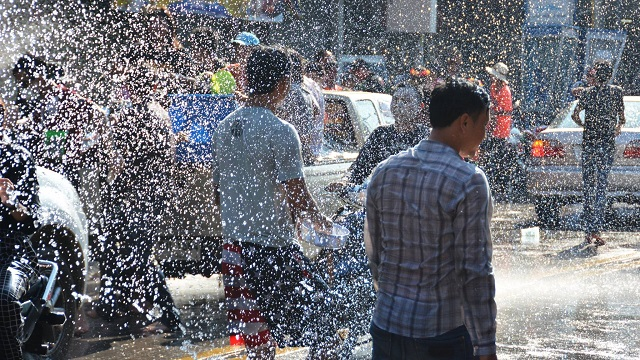 Songkran in Pattaya 2016 - 27