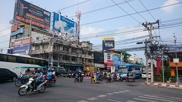 Sukhumvit Road North Pattaya