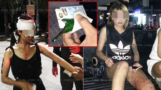 Soi 6 GoGo dancer stabbed in bar girl brawl