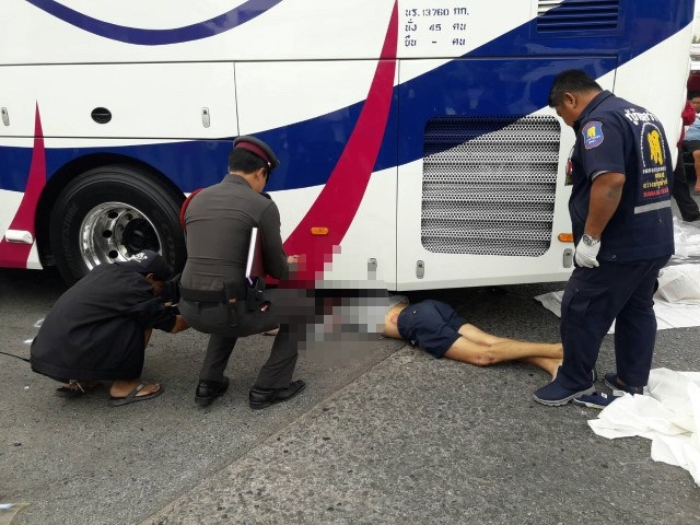 Russian tourist crushed to death by tour bus