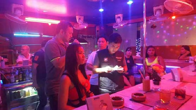 Soi Buakhao Bar Busted for Underage Sex Workers