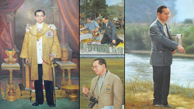 HM the late King Bhumibol Adulyadej