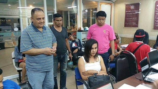 Ladyboy Arrested for Pickpocketing Jordanian Tourist on Walking Street