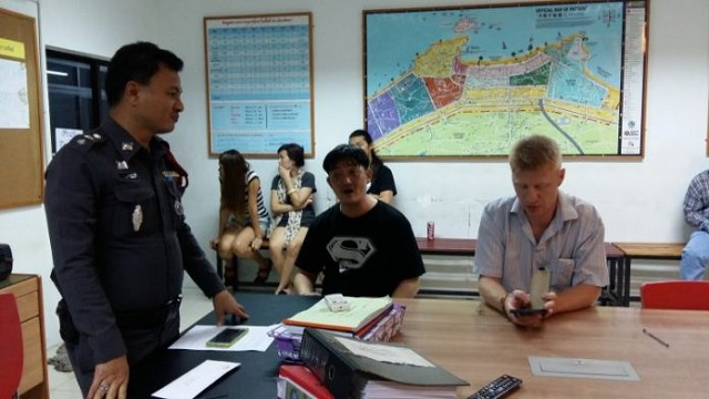 Russian Tourist Caught Stealing Watch From South Pattaya Shop