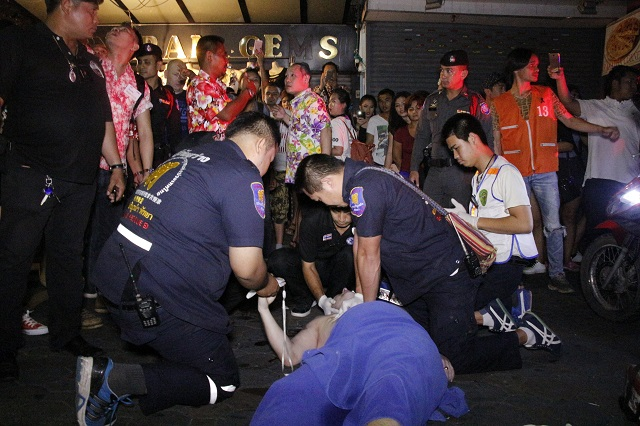 British Tourist Plunges to Death From Walking Street Guesthouse