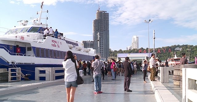 New Ferry Service to Connect Sattahip and Koh Chang