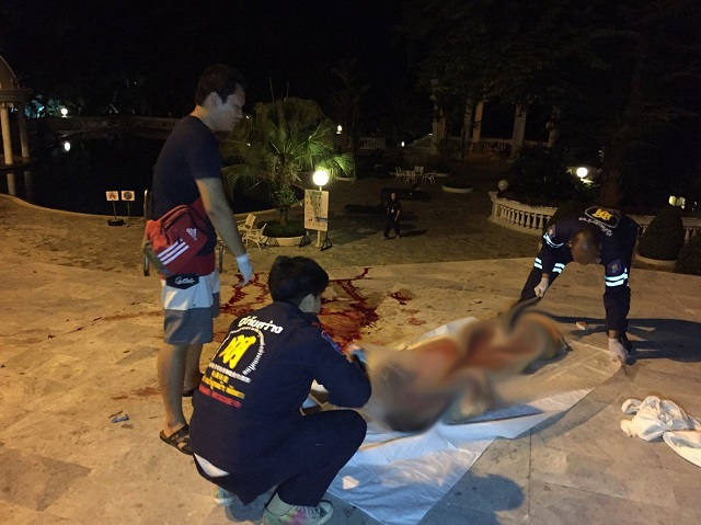 Korean Plunges To His Death in North Pattaya