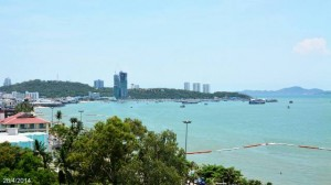 Southern Pattaya bay
