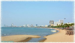 Southern end of Jomtien beach