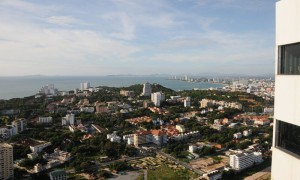 Pratamnak hill and Pattaya bay