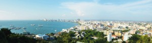 Pattaya from Pratamnak hill viewpoint