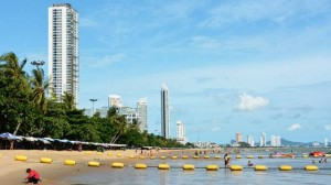 Jomtien beach southern end