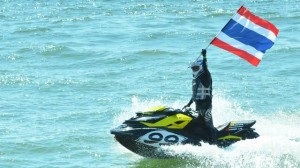 Jet ski championship on Jomtien beach
