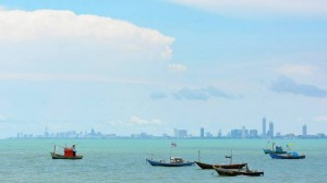 jomtien from distance