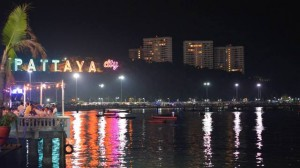 Pattaya Bali Hai Pier by night