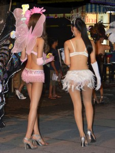 Ladyboys a.k.a. katoeys in Pattaya