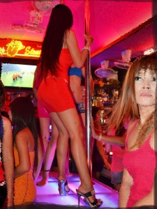 Coyote bar in South Pattaya