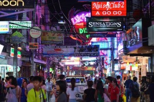 Walking Street in South Pattaya