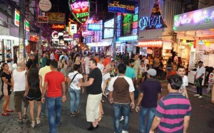 Walking Street by night