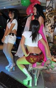 Dancing show in South Pattaya