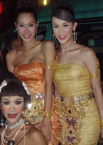 Ladyboys party in Pattaya